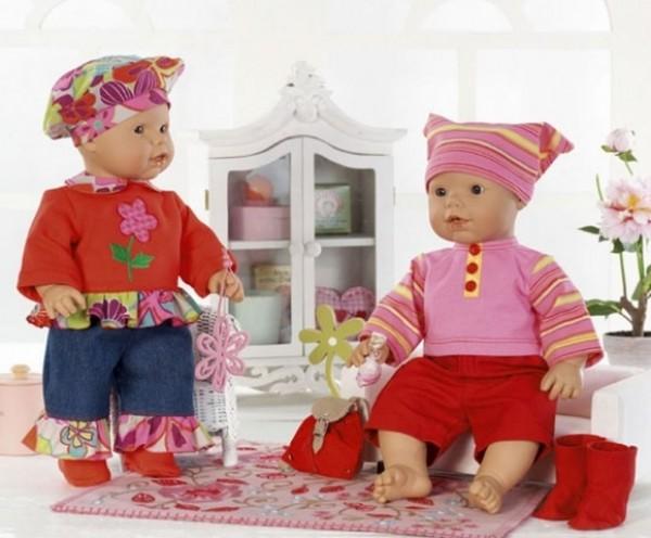 burda Schnitt Puppenkleider 7903