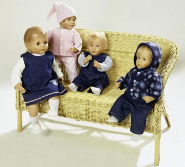 burda Schnitt Puppenkleid-Kombination 8591