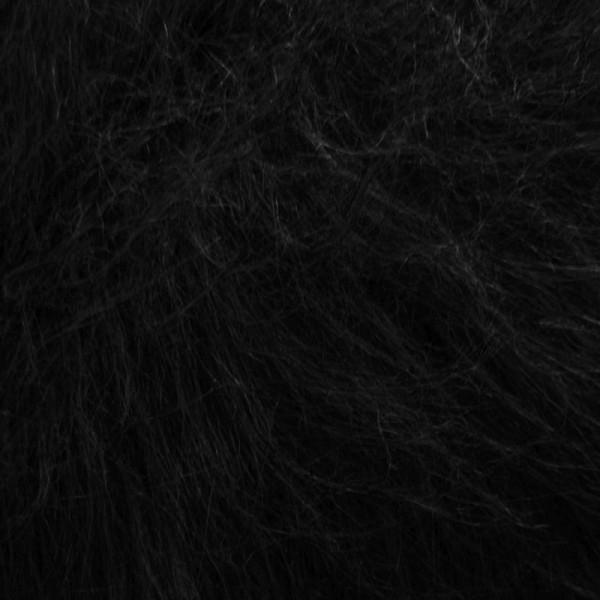 Langhaarplüsch RUDI schwarz