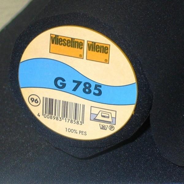 Vlieseline Gewebeeinlage aufbügelbar G785 schwarz