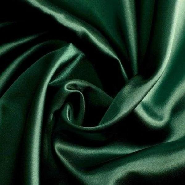 Satin QUEEN dunkelgrün