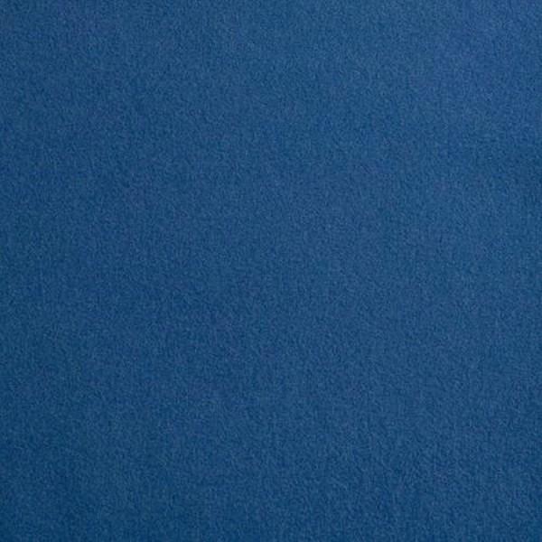 Mantelstoff WOLLVELOURE klassischblau