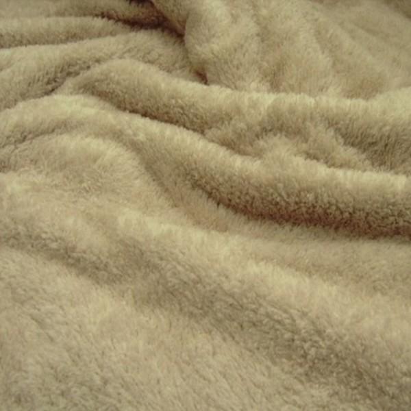 Microfleece FLAUSCH beige