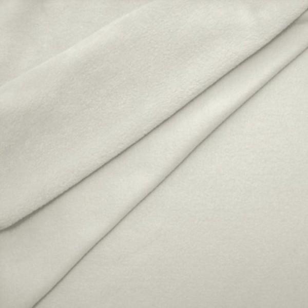 Antipilling Fleece ANTJE weiß