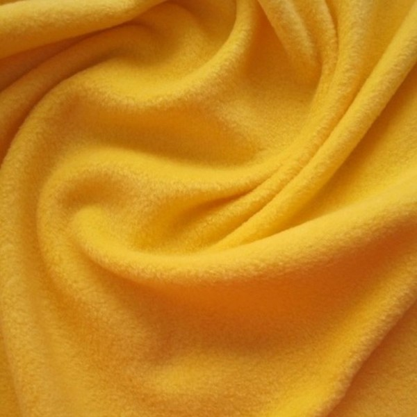 Antipilling Fleece ANTJE maisgelb