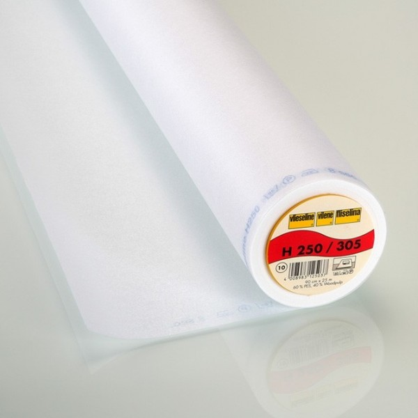 Vlieseline aufbügelbar H250 weiß
