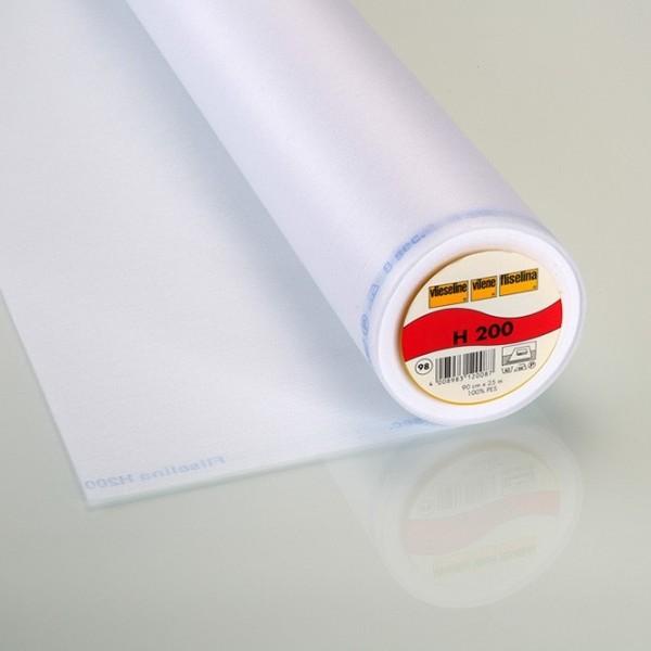 Vlieseline aufbügelbar H200 weiß