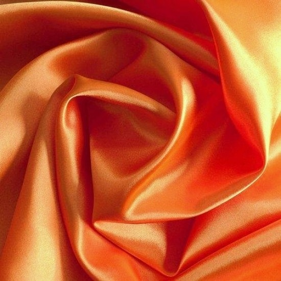 Satin QUEEN orange