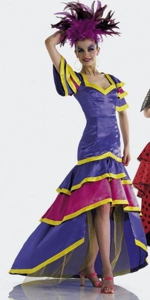 burda Schnitt Samba Flamenco Kleid 2486 - Kleid A