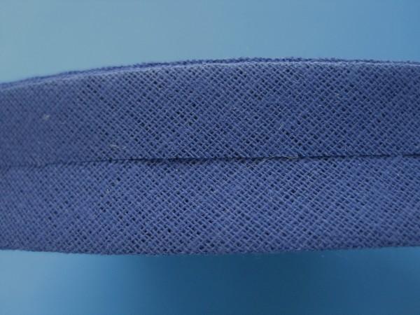 Schrägband Baumwolle 40/20 mm royalblau