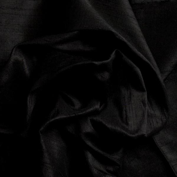 Dupionseide SWANA schwarz