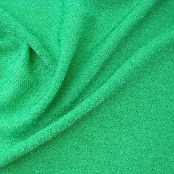 Glitzerjersey grün-grün