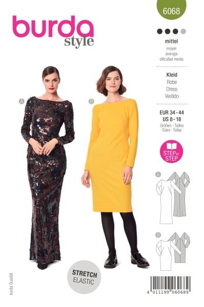Burda Schnitt 6068 Kleid