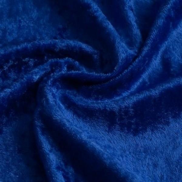 Pannesamt SARI königsblau