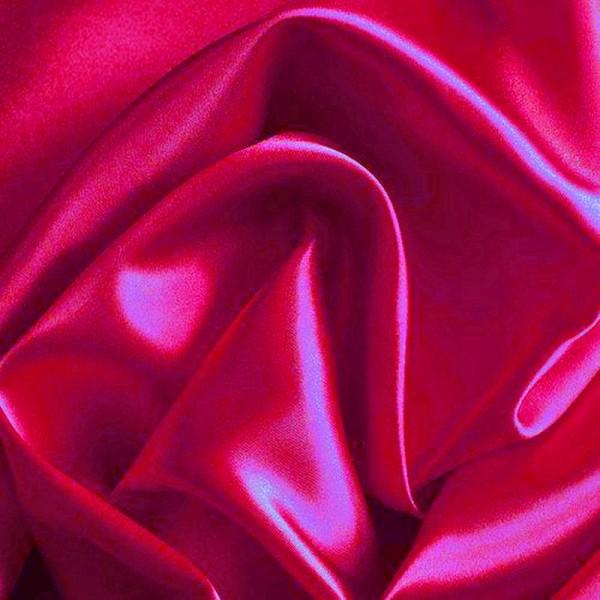 Kettsatin Polyester-Baumwolle pinkbeere
