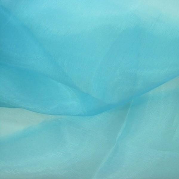 Organza EXTRA blue lagoon