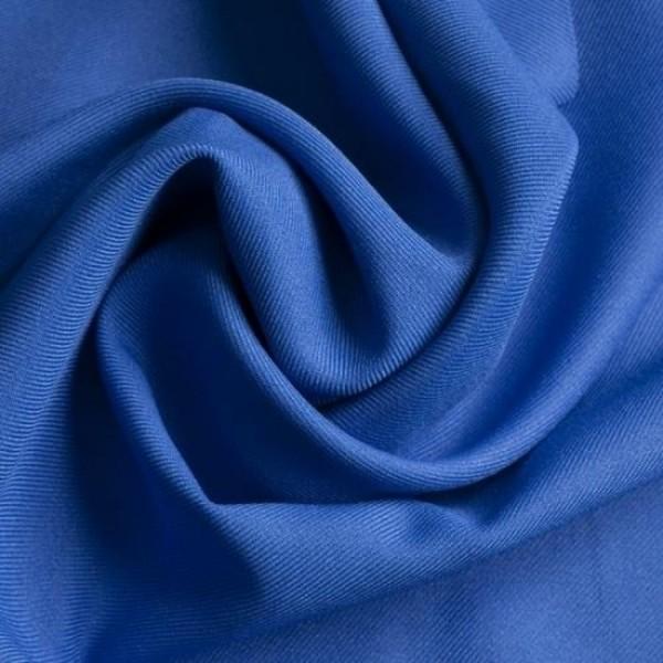 Gabardine Polyester royalblau