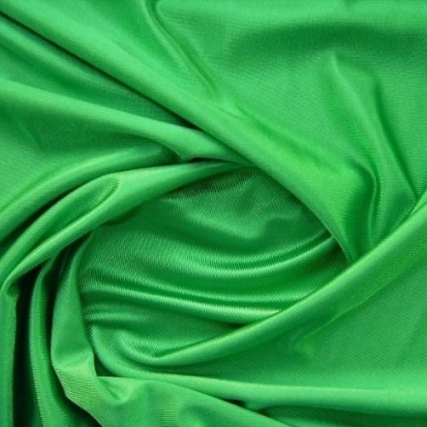 Glanzstoff mit Querstruktur grün