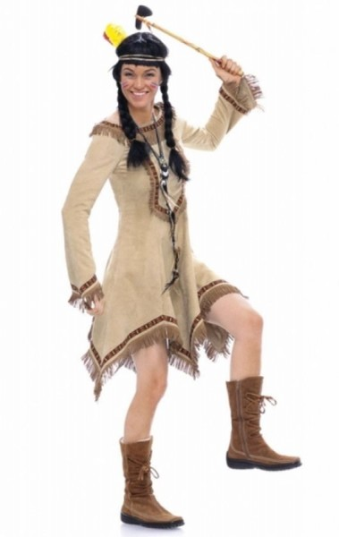 burda Schnitt Indianerin Elfe 2432 - A
