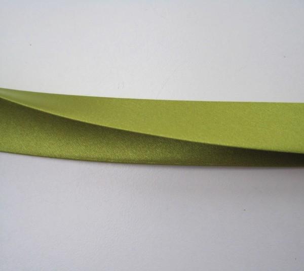 Satin-Schrägband 80/40/20 kiwigrün