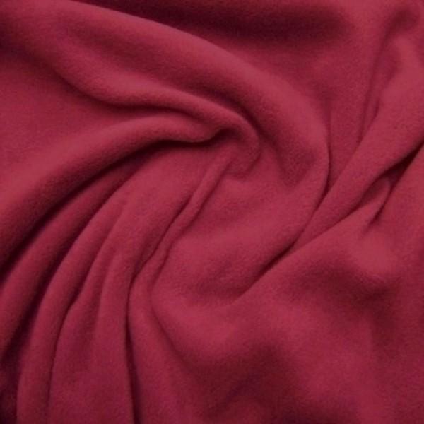 Antipilling Fleece ANTJE rot