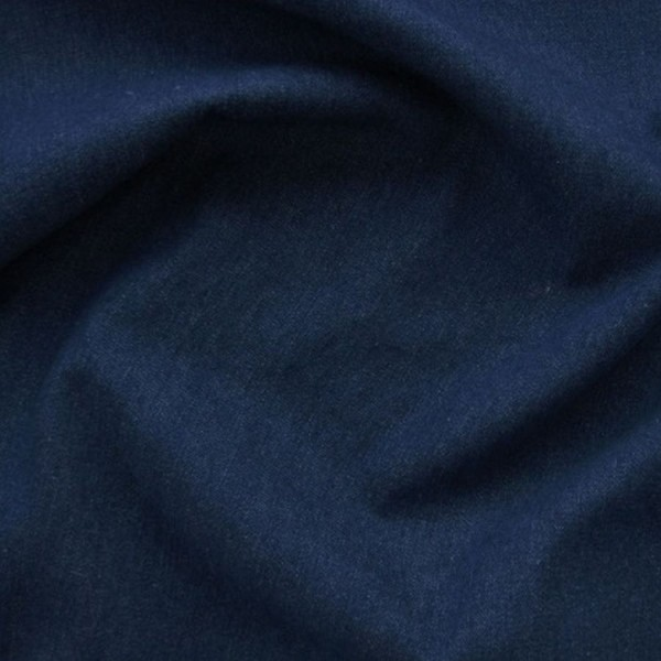 Jeansstoff Mischgewebe dunkelblau
