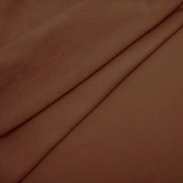 Antipilling Fleece ANTJE mittelbraun