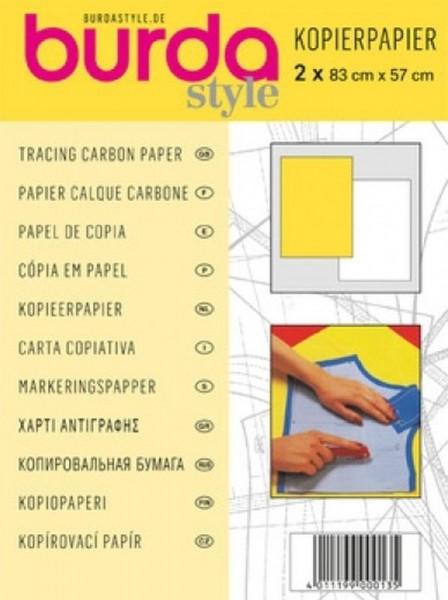 burda Kopierpapier weiß-gelb